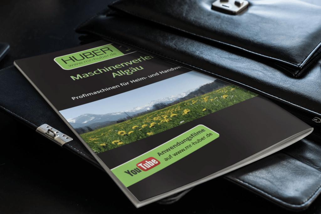Maschinenverleih Broschüre